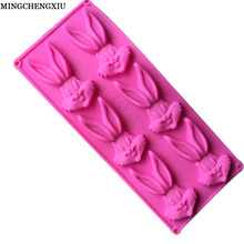 Innovative fashion products, gifts baking mold silicone cake mold Bugs Bunny ice lattice mold jelly DIY Safety and Health