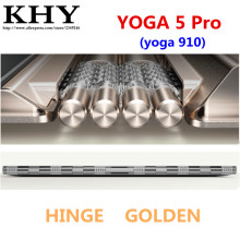 New original HINGE_ANT_ASSY_GOLDEN  For lenovo YOGA 5 Pro 13.9 inch Ultra thin and light notebook HINGE with antenna AM122000710