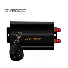 Wholesale  Real Time  remote controller GSM/GPRS Tracking Vehicle Car GPS Tracker 103B