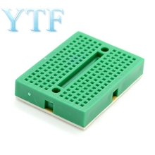 SYB-170 Green bread board  test board  color small breadboard  35*47mm imported materials