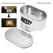 Free Shipping DA-968 2016 New Smart Mini Ultrasonic Cleaner Bath For Cleaning Jewelry Glasses Circuit Board Intelligent Control(China)