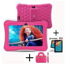 Dragon Touch Y88X Plus 7 inch Kids Tablet for Children Quad Core Android 5.1 + Tablet bag+ Screen Protector Best gifts for Child(China)