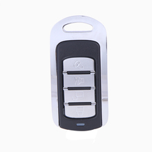 12V 10mA Universal Metal Wireless Remote Control Learning Fixed Code 4 Channels 433MHz for Electronic Garage Door Gate Alarm(China)