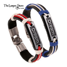 Dream alloy with gold blue retro birthday love monument mosaic hand couple classical woven hemp rope leading fashion Christmas(China)