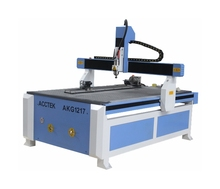 AKG1217 Professional manufacture PCB cnc router machine stencil cutting machine