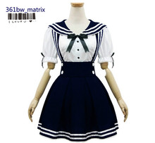 Wholesale Japan Anime Sexy Girls School Uniform Outfit Lolita Maid Costume Dress Halloween Christmas Costume New Free Shipping