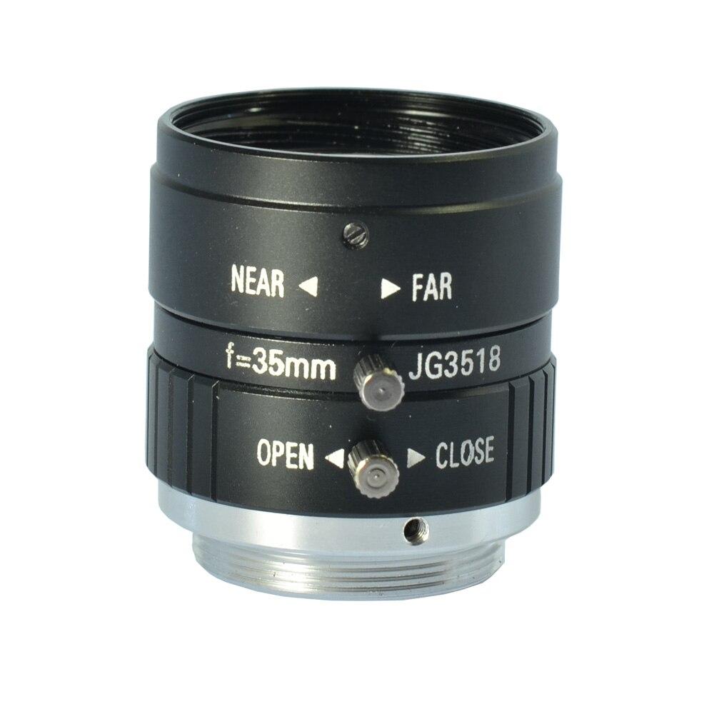 5MP 35mm F1.8 Manual Zoom Focus Iris C Mount Lens CCTV Lens for CCTV Camera<br>