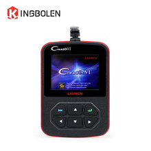 Launch Creader VI Code Reader 6 x431 Generic OBDII Code Reader OBD 16PIN Scanner Free update online with QVGA LCD screen(China)