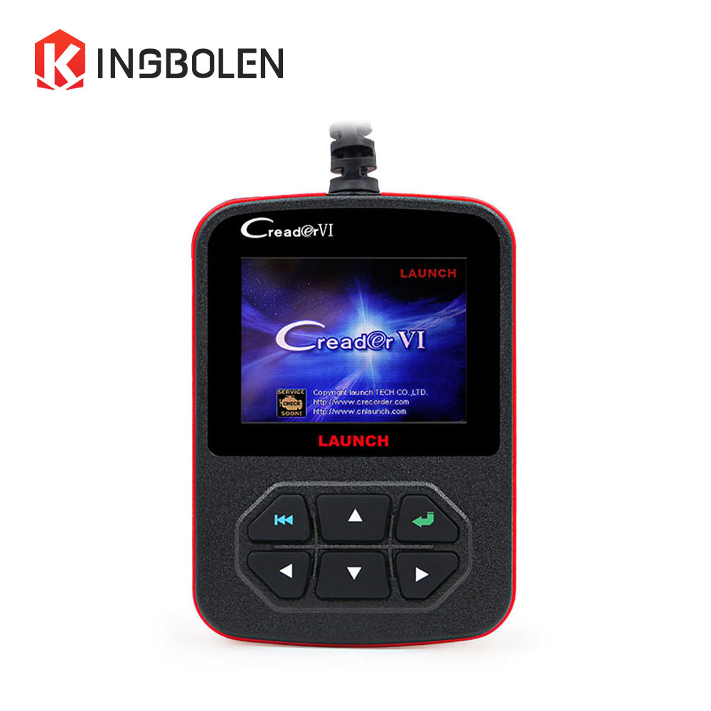 Launch Creader VI Creader VI+ Code Reader 6 x431 Generic OBDII Code Reader OBD 16PIN Scanner Free update online Fast Shipping(China (Mainland))