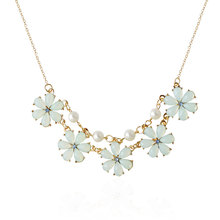 Mdiger Brand Simple Style Flower Pendant Necklaces For Women Wedding Party Jewelry Bijoux Gifts Chain Charm Light Green Necklace