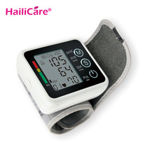Health Care Automatic Tonometer Portale Digital Wrist Blood Pressure Monitor Meter Measuring Pulse Sphygmomanometer Tensiometros(China)