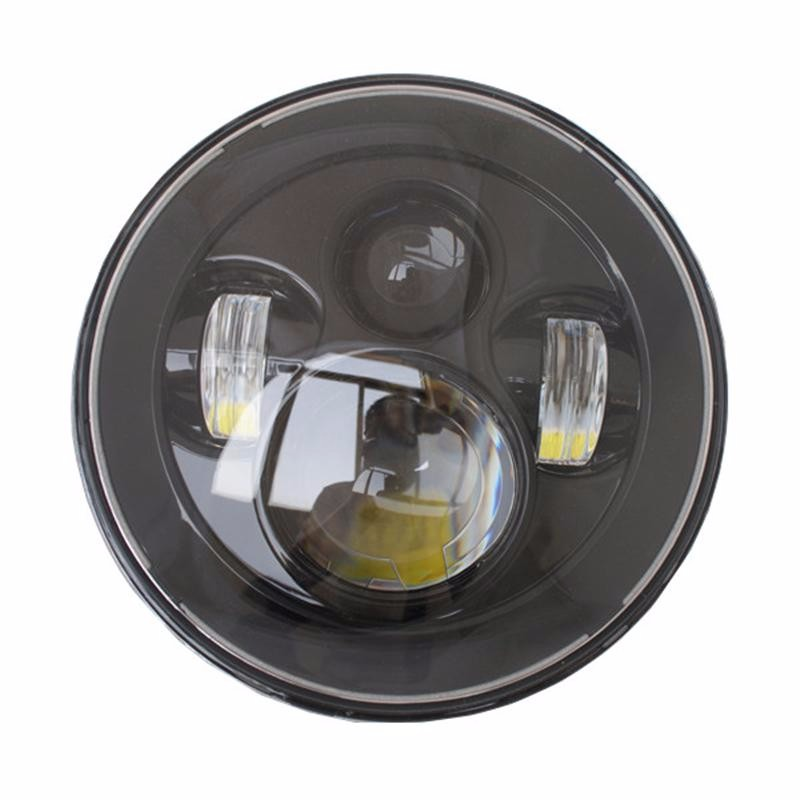 7 inch Round LED Headlights H4 H13 40W 7inch Projection Headlight Kit For Jeep Wrangler JK TJ Hummer<br><br>Aliexpress