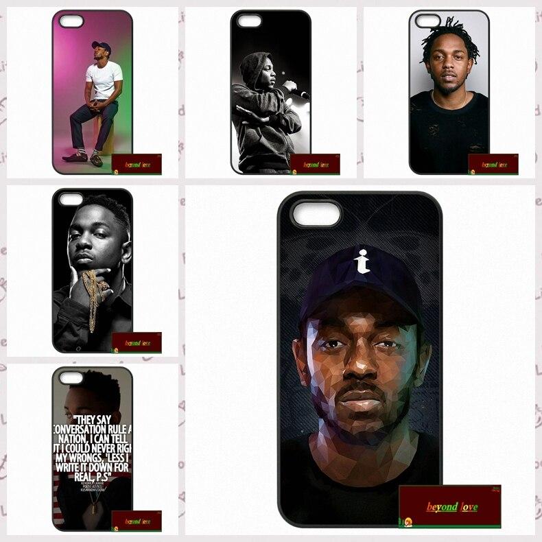 Pop Rapper Kendrick Lamar Cover case for iphone 4 4s 5 5s 5c 6 6s plus samsung galaxy S3 S4 mini S5 S6 Note 2 3 4  DE0181