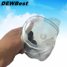 DEWBest eye mask Transparent protective glasses goggles Prevent the sand storm rider chemical splash proof dust(China)