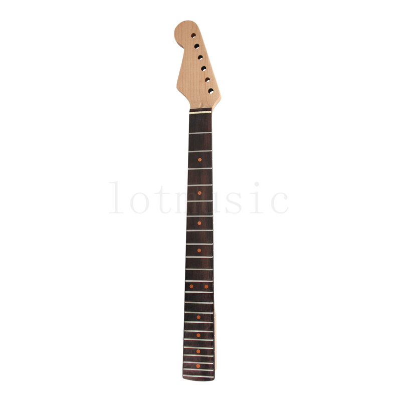 Left Handed Lefty Neck for Electric Guitar Parts Replacement Maple Rosewood 22 Fret<br>