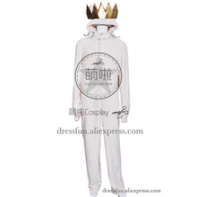 Where the Wild Things Are Cosplay Wolf Max Records Costume Jumpsuit Outfits Suit Uniform Halloween Fashion Party Fast Shipping