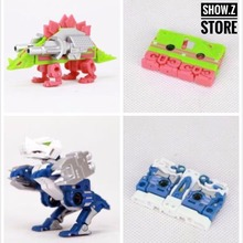 [Show.Z Store] Robot Hero R-01 Durden & Barney (Compatible with MP13 Soundwave) Sound Wave Cassette Transformation(China)