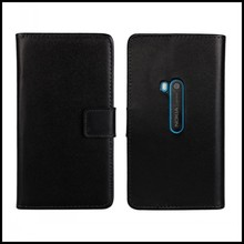 For Nokia Lumia 920 Mobile Accessory Leather Wallet Card Slot Stand Protective Cover Back Shell For Nokia Lumia 920 Phone Case(China)