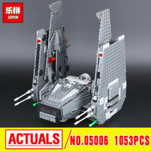 Lepin 05006 Star Kylo Ren Command Shuttle LEPIN Building Blocks  Educational Toys Compatible with 75104 Lovely Funny Toys  wars