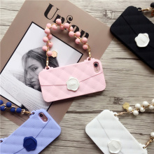 3D Handbag Cell Phone Soft Silicone Back Case Cover Skin For Apple iPhone 6 / 6S / 6 Plus / 6S Plus / 7 / 7Plus 8 with Lanyard(China)