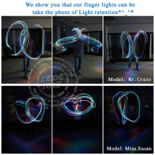 100pcs/lot LED finger Ring lights 4 color Laser finger lamp for party/birthday/Chistmas decoration LED finger light