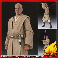 "Original BANDAI Tamashii Nations S.H.Figuarts (SHF) Action Figure - Mace Windu from ""Star Wars Episode II: Attack of the Clones"""