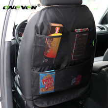 Onever Car Seat Back Storage Bag Folding Portable Organizer Multi Pocket Travel Box Holder Hanger Travel Storage Box Net Pocket(China)