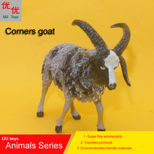 Hot toys: Corners goat simulation model  Animals   kids  toys children educational props