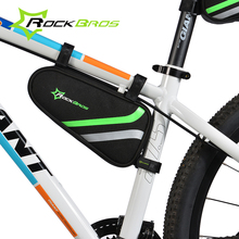 ROCKBROS Bicycle Frame Bag Outdoor Cycling Bike Top Tube Bag Cycling Pannier Bike Accessories Bicycle Repair Tool Bag Triangle