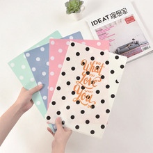 4 pcs Office plastic transparent clear book A4 20 pockets filing products documents bag school supplies Deli