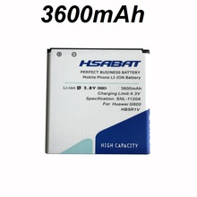 HSABAT 3600mAh HB5R1V Battery for Huawei U8950D G500C Honor 3 G600 C8826D T8950D U9508