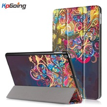 Magnetic Case for IPad 9.7 Inch 2017, Auto Wake  PU Leather+Ultra Slim Light Weight PC Back Cover Case for IPad 9.7 2017  Model