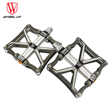 ultra-light  bike pedals titanium axle bicycle MTB Mountain bike Road Folding cycling Pedal