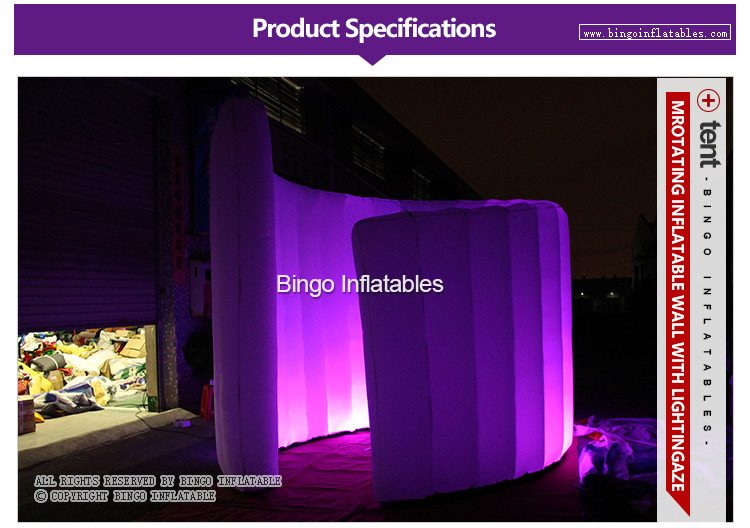 inflatable wall with led lighting for events (1)