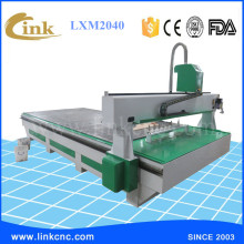 LINK Excellent  & True picture LXM2040(Vacuum table)cnc router wood carving cnc