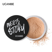 Ucanbe Face Makeup Skin Finishing Loose Powder Waterproof Oil Control Translucent Powder Brighten Wihtening Mineral Base Contour(China)