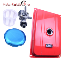 BRAND NEW RED UNIVERSAL 5 GALLON GAS FUEL TANK WITH CHROME CAP ALSO FITS HONDA EC2500 18.9 LITERS