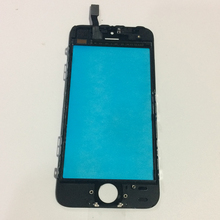 For iPhone 5 5S 5C Touch Screen Front Outer Glass Lens Touch Panel Digitizer with Frame Bezel Assembly Replacement Parts(China)