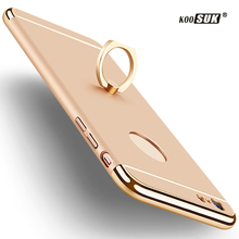 Buy 7P 6P Finger Ring Back Cover iphone 7 6 8 Plus Case Caps Phone Protection Case Apple iphone 6 6S 5 X Stand PC Hard Shell for $3.99 in AliExpress store
