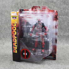 Hot 20cn Deadpool the special Scene PVC Marvel figure toy Great gift for BOY