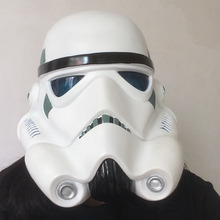 High Quality White Soldiers Helmet Mask Wearable Stormtrooper Helmet Cos Phasma Mask Force Awakening Halloween Mask