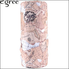 C.gree Multifunctional Headwear Neck Bandana Map Series Multi Scarf Tube Mask Cap Style Wholesale/Retail Muffler Scarf 230