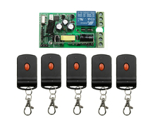 85v  110v 220v  Wide voltage AC  1 ch  RF  wireless remote control switch 1* receiver+5 * transmitter
