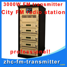 ZHC618F-3000W 3KW FM broadcast Transmitter used transmitter for sale fm radio transmitter for city fm radio station