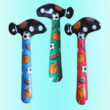 Camouflage Inflatable Hammer Kids Tricky Toys Birthday Party Souvenirs Children Cheer Stick Toy Sport Clapper Fun Game Play Toy(China)