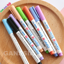 (8colors/set) Whiteboard marker pen 8 Colors Markers for white board Easy erasing Office material stationery supplies (ss-1411)
