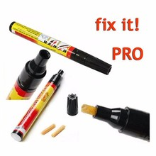 5 Pcs Wholesale Permanent Water Resistant Works on all colors Fix It Pro Clear Car Coat Scratch Cover Remove Repair Painting Pen