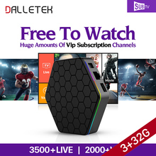 Dalletektv T95Zplus Smart Android 6.0 TV Box European 3G 32G S912 1 Year SUBTV Iptv Code Abonnement French Arabic IPTV Top Box