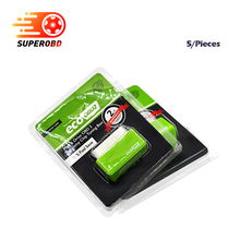 Big Promotion! 5pcs/Lot EcoOBD2 Economy Chip Tuning Box for Benzine 15% Fuel Save Plug&Drive OBD 2 scanner free shipping(China)