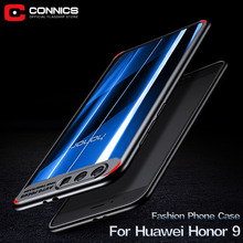 CONNICS Honor 9 Phone Case for Huawei honor 9 honor9 Soft Transparent Silicon Anti Explosion Slim Thin Back Cover Cell Cases(China)